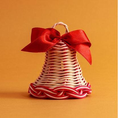 Vianočný zvonček, vianočná ozdoba.